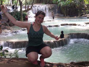 Laos Sehenswürdigkeiten - Kuang Si Wasserfälle bei Luang Prabang