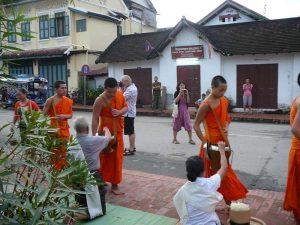 Der Buddhismus ist die am weitesten verbreitete Religion in Laos