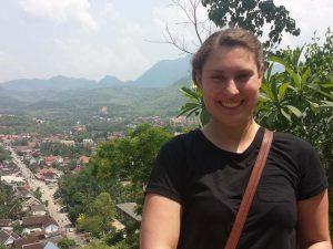 Ausblick vom Phousi Berg in Luang Prabang