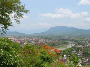 Ausblick vom Phousi Berg über Luang Prabang
