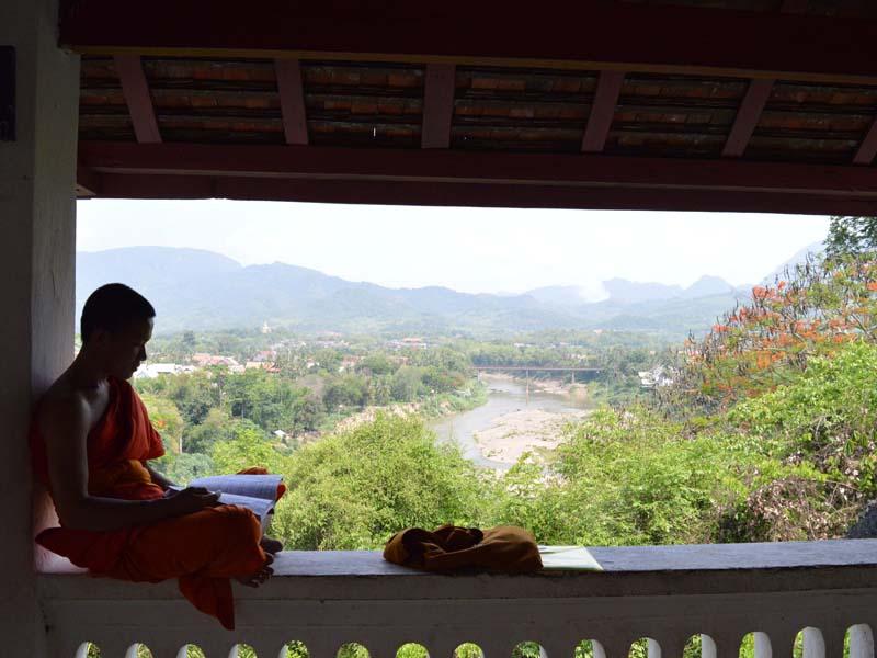 Erfahren Sie mehr über den Alltag der Mönche in Luang Prabang
