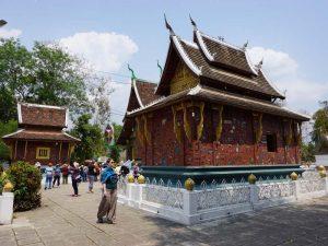 Der Tempel Wat Xieng Thong in Luang Prabang