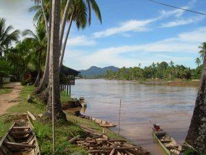 Don Khone ist eine der 4000 Inseln im Mekong