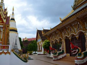 Tempel in Pakse