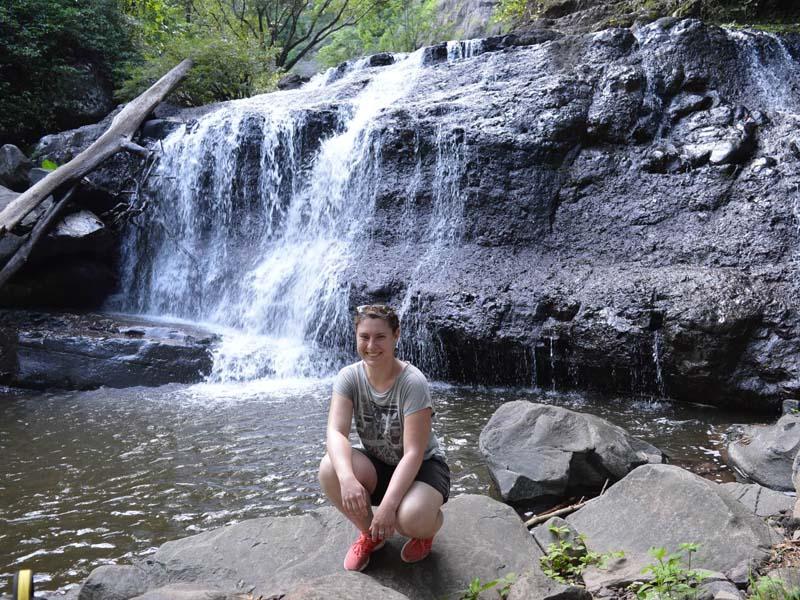 Namsanam Wasserfall