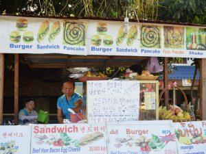 Garküche in Laos