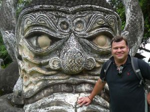 Höhepunkte von Laos und Kambodscha - Statuen im Buddha Park