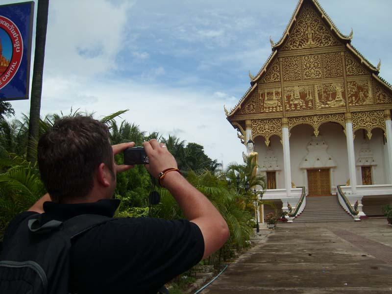 Fotostopp am Wat Phra Tha Luang