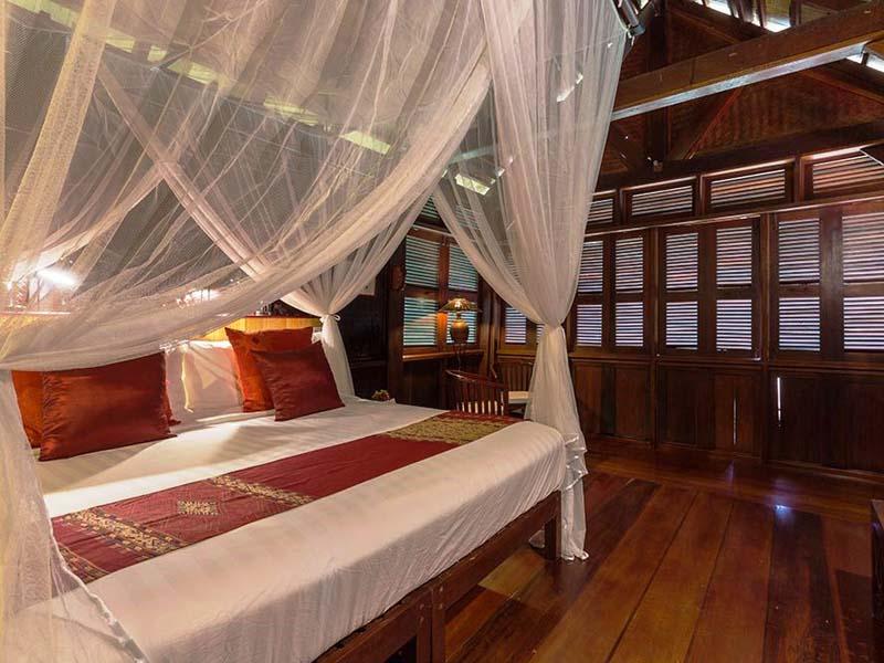 Komfortables Zimmer in Pak Beng