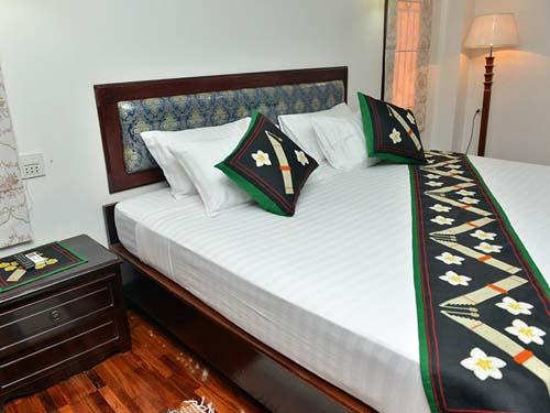 Hotel in Phonsavan mit einfachen Zimmern