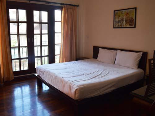 Gemütliches Zimmer im Hotel in Vientiane