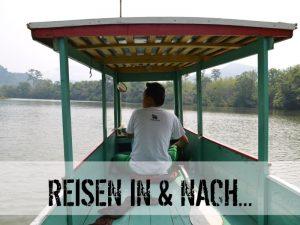 Bootsfahrt über den Mekong