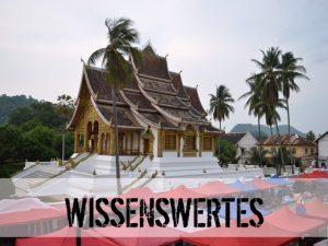 Ein Tempel in Laos
