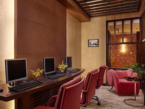 Das Hotel in Hanoi ist mit allerlei Annehmlichkeiten ausgestattet