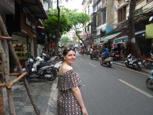 Erkundung von Hanoi auf eigene Faust