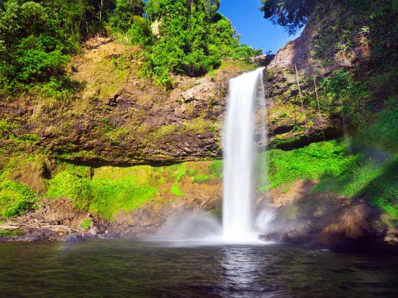 3 Wochen Laos - Wasserfall in Südlaos erkunden