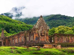 Wat Phou Tempel im Süden von Laos