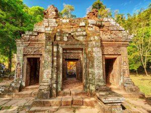 Wat Phou bei Champasak - 3 Wochen Laos