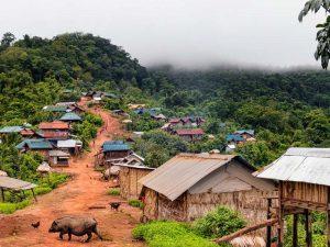 Trekking in Laos mit Übernachtung bei Einheimischen