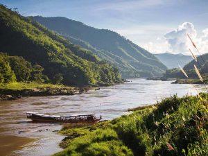 Flusskreuzfahrt auf dem Mekong nach Luang Prabang
