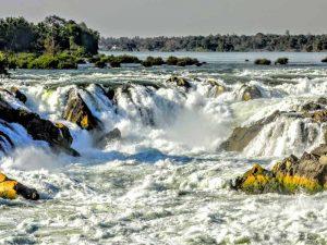 Mekongfälle südlich von Si Phan Don