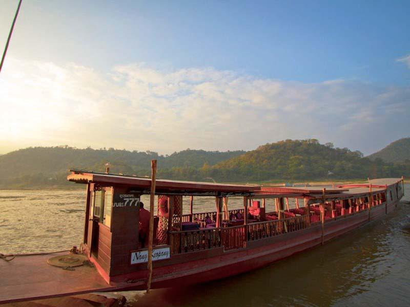 Flusskreuzfahrt auf dem MekongFlusskreuzfahrt auf dem Mekong