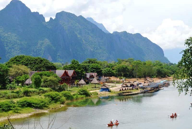 Vang Vieng – aktiv und entspannt zugleich