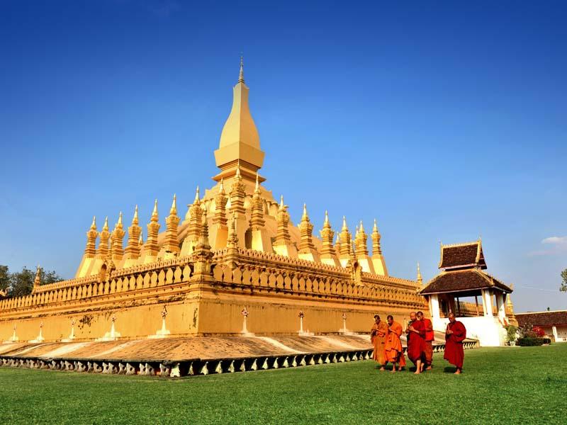 Vientiane auf eigene Faust erkundenVientiane auf eigene Faust erkundenVientiane auf eigene Faust erkunden