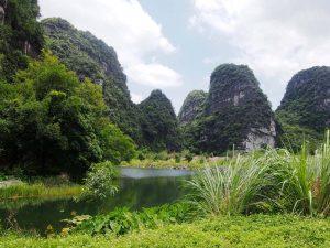 Trockene Halongbucht in Vietnam