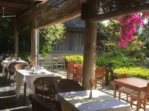 Restaurantbereich im Hotel