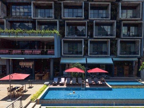 Komfortable Unterkunft mit Pool in Vang Vieng