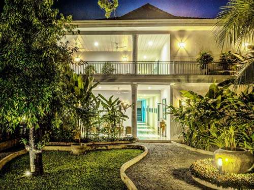 Stilvolles Hotel in Siem Reap