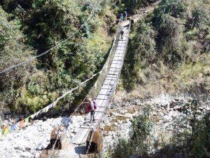 Helambu Brücke