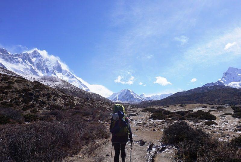 Trekking bei Gokyo