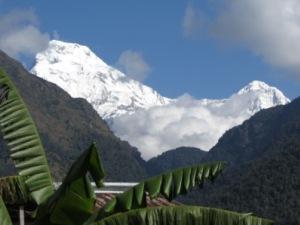 Bergkulisse mit und ohne Schnee