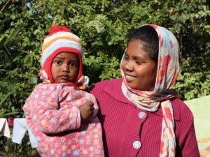 Einheimische in Nepal
