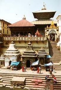 Der Pashupatinath Tempel in Kathmandu