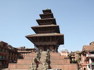Katmandu-Tal: Nyatapola Tempel in Bhaktapur