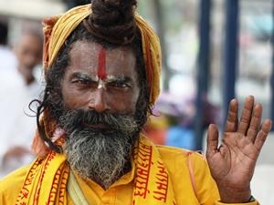 Kulturreise Nepal: Begegnung mit einem Sadhu in Kathmandu