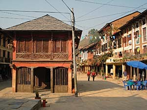 Newari Architektur in Bandipur