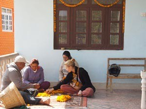Nepal Gruppenreise: Homestay in Panauti