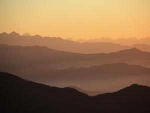 Sonnenaufgang beim Mohare Hill