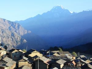 Das nepalesische Ökodorf Tikot