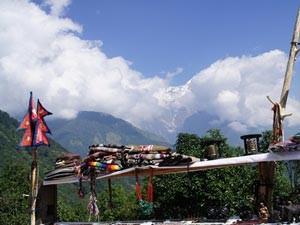 Souvenir Shop auf dem Weg nach Ghorepani in 2 Wochen Nepal