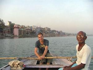 Indien Nepal Reise: Bootstour in Varansi