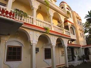 Indien Nepal Reise: Hotel in Jaipur