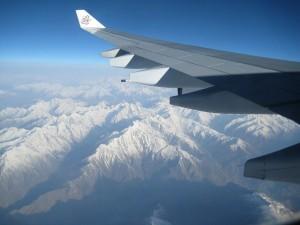 Kulturreise Nepal: nepal-flug-himalaya-aussicht