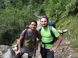 Trekking mit Guide