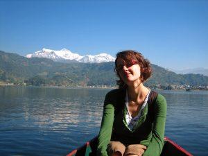 3 Wochen Nepal: Ruderboot