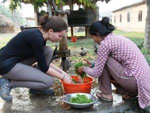 Nepal Gruppenreise: Kochen Homestay